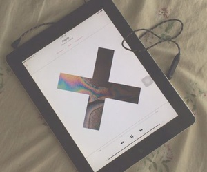 music, the xx, and ipad image