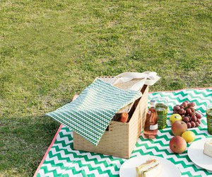 countryside, food, and picnic image