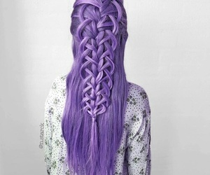 hairstyle, hair, and style image