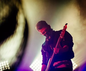 bassist, bass player, and beautiful guy image