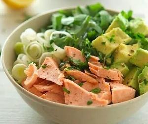 avocado, food, and salad image
