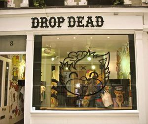 drop dead image