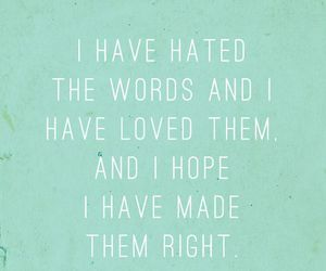 quote, hate, and Right image