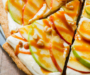 apple, cheese, and cream image
