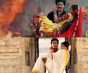 shah rukh khan, om shanti om, and deepika padukone image