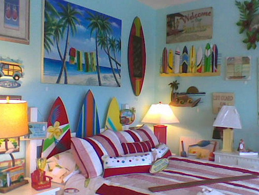 Photo : Beach Themed Kids Room Images on We Heart It