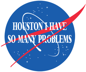 problem, nasa, and houston image