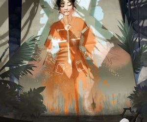 art, game, and portal image