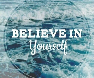 quotes, yourself, and believe image