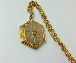 etsy, lockets, and victorian necklace image