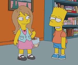 bart simpson, cartoons, and girl image