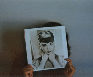 girl, audrey hepburn, and vintage image