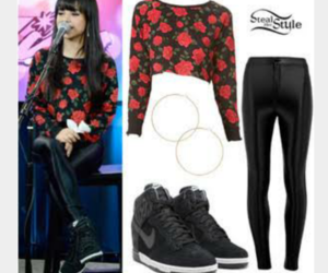 outfit, becky g, and clothes image