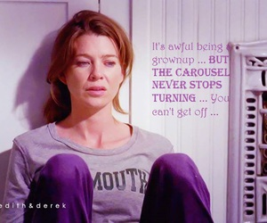 meredith grey, quotes, and grey's anatomy image