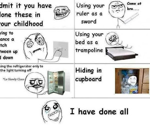 childhood, funny, and lol image