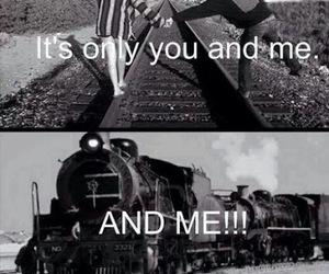 train, love, and funny image