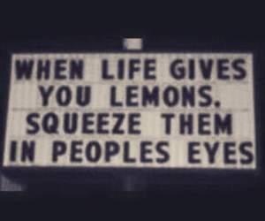 lemon, quote, and grunge image