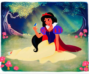 jasmine, disney, and snow white image
