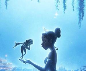 disney, frog, and princess image
