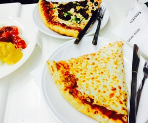 food, pizza, and costco image