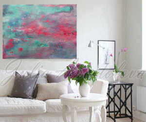 Abstract Painting, watercolor painting, and large abstract art image