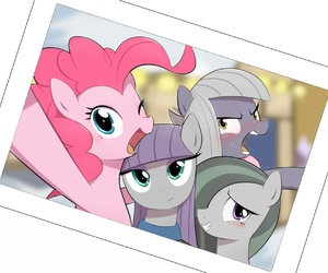 MLP, pinkie pie, and cute image