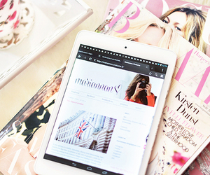 fashion, magazine, and ipad image