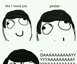 my chemical romance, i don't love you, and funny image