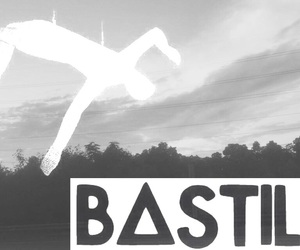 bastille, black and white, and dan smith image