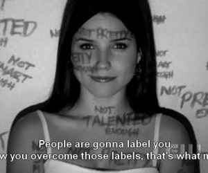 quotes, label, and one tree hill image