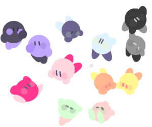 colorful, kirby, and nintendo image