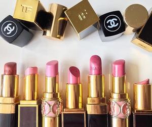 chanel, fashion, and lipstick image