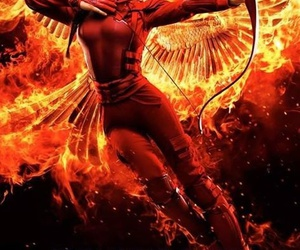 mockingjay, the hunger games, and katniss everdeen image