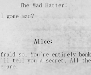 alice, alice in wonderland, and quote image