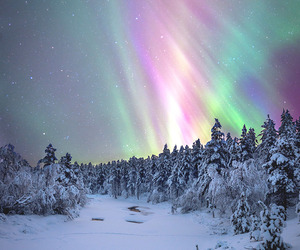 snow, sky, and nature image
