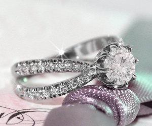diamond, etsy, and jewelry image