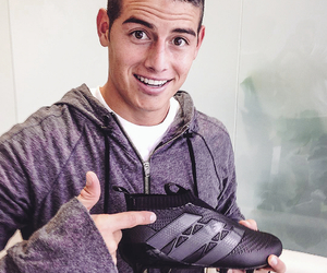 adidas, football, and james rodriguez image