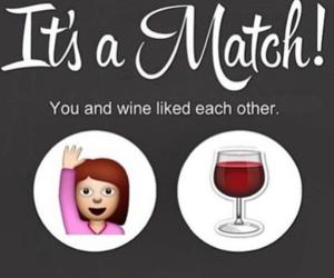 wine and match image