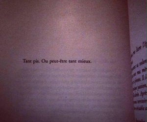 book, french, and sad image