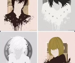 death note, mello, and near image