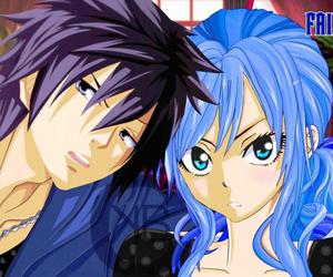 anime, gray, and fairy tail image