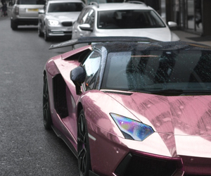 car, cool, and pink image