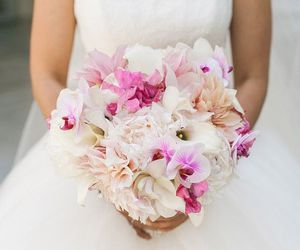flowers, beautiful, and bouquet image