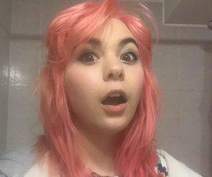 chile, pink hair, and ilonka obilinovic image