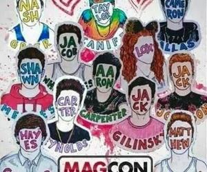 magcon, cameron dallas, and mahogany lox image