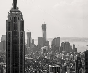 skyline, state, and new york image