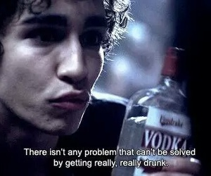 drunk, vodka, and misfits image