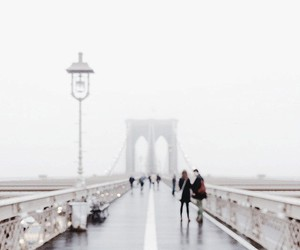 bridge, city, and people image