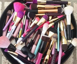 makeup, make up, and love image