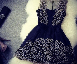 moda, outfit, and vestido image